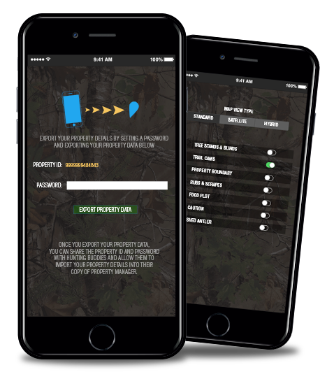 New Whitetail Freaks Property Manager App for iPhone and iPad